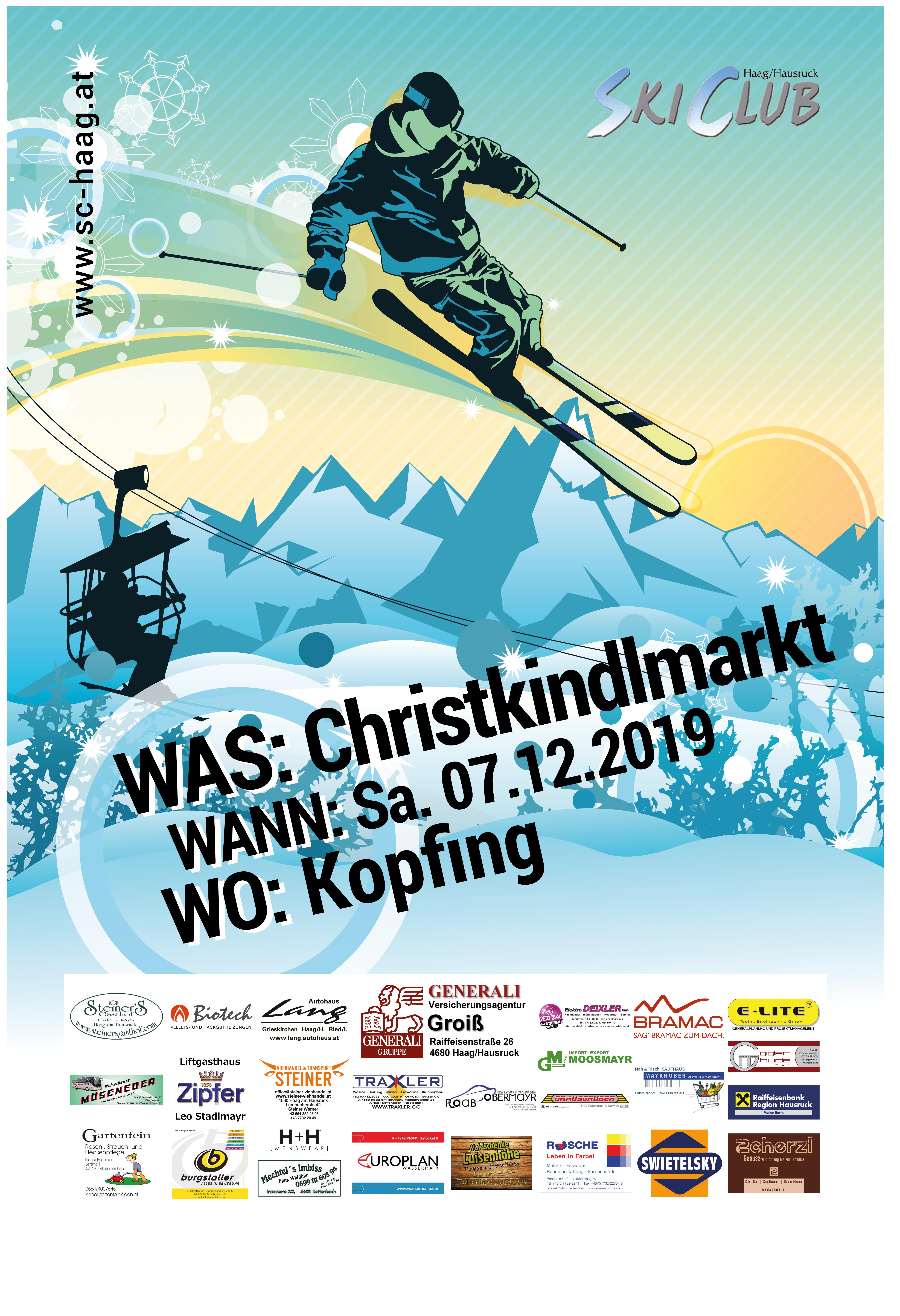 Christkindlmarkt Kofping 2019